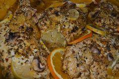 Herb Roasted Citrus Chicken #OhBiteme