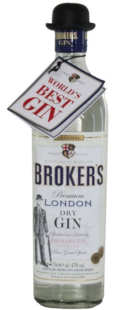 Brokers Dry Gin 47% Vol. - 0,7 Liter: Amazon.de: Lebensmittel & Getränke