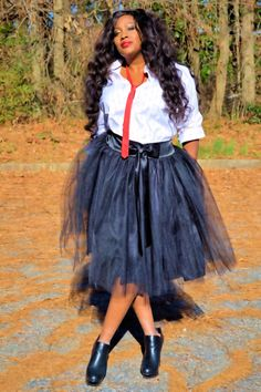 f2ecc198b31 Adorable tutu skirt with ribbon sash Plus Size Tutu Skirt