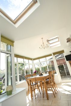 Light and airy without the suns' glare the prefix solid tiled real roof Conservatory is the perfect option for longevity, functionality and style.  See more www.realroofconservatories.com
