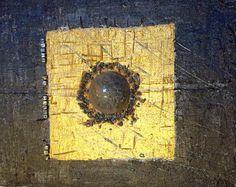 VENDU - Art contemporain - Art moderne - Cosmos - Peinture technique mixte - Wilcox  : Peintures par peintures-wilcox