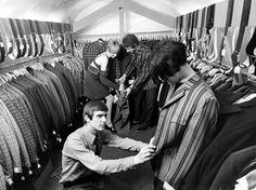 CARNABY STREET, LONDON, BRITAIN - JAN 1967