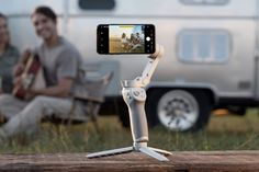 DJI announces the new Oslo Mobile 4, using magnetic mounts for the foldable handheld stabilizer.