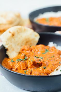 A traditional classic Indian dish; this stovetop butter chicken recipe is perfect for all your Indian restaurant cravings! Stovetop Butter Chicken - Classic Indian Dish Butter Chicken for Stovetop Lydi Seafood Recipes, Indian Food Recipes, Asian Recipes, New Recipes, Chicken Recipes, Healthy Recipes, Ethnic Recipes, Seafood Boil, Healthy Food