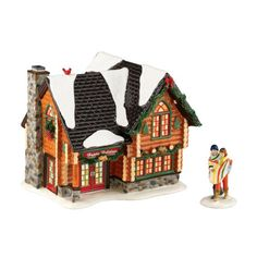 $68.46-$89.00 Department 56 2011 Annual Holiday Set with Accessory The Original Snow Village Winter Retreat, Set of 2 - Department 56 Snow Village Winter Retreat Holiday Set. http://www.amazon.com/dp/B0051JJGRI/?tag=pin2wine-20