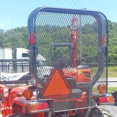 Rear Protective Screen (Only) for Kubota Kubota MX4700, MX4800, MX5100, MX5200, MX5800 Non-Cab Tractors