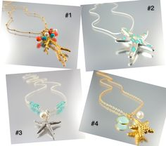 Like Camla FB and tell me which one of these gorgeous SEA-INSPIRED NECKLACES you want to win next week?