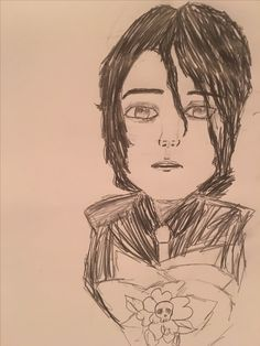 And Gerard Way being adorable in a different art style I decided to try out