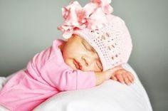 Little Darling Newborn Ruffle Satin Crochet Hat,...$19.99
