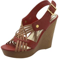 Womens BrashWomen's Mallory Wood Wedge Sandal
