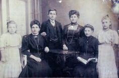 Family Mortensen,1908