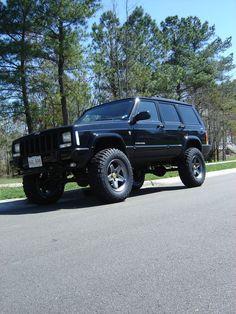 JonSorgis 2001 Jeep Cherokee....mine was a 2000 and purple...good lordy i miss that thing.