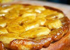 La tarte à la banane remporte tous les suffrages autour de la table. Une tarte faite d'une pâte sablée, d'une crème à la banane et de rondelles de banane,