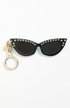 kate spade new york 'sunglasses' key ring available at #Nordstrom