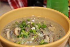 Ideal Protein Mushroom Soup Recipe  *Coach approved.
