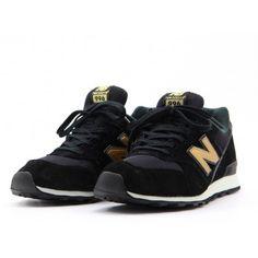 New Balance - BLACK / GOLD