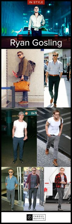 Hey, Girl, I have a great sense of style so, why don't you tell all your man friends to get some fashion inspiration from me. Ryan Gosling grabs the ladies' attention with his good looks and sense of style.