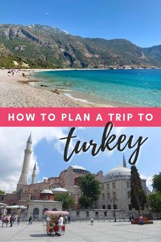 Turkey Trip Planning: A Detailed Guide for First-Timers | How to plan a trip to Turkey, including detailed tips on visas, currency, safety, food, where to stay, what to eat, what to wear in Turkey, transportation, and more. Turkey travel tips, where to go in Turkey, Turkey trip planning tips #turkey #traveltips #travelguide Europe Travel Tips, Travel Destinations, Traveling Europe, European Travel, Travel Guide, Travel With Kids, Family Travel, Turkey Travel, Trip To Turkey