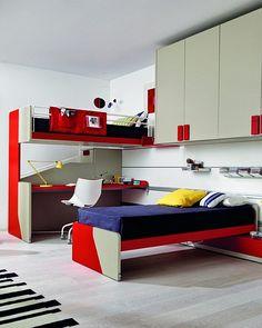 Posuvné studentské pokoje. Bunk Beds, Loft, Construction, Praha, Furniture, Home Decor, Bedrooms, Building, Decoration Home
