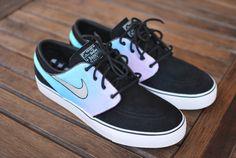 Pastel Tie Dye Nike Zoom Stefan Janoski Sneakers