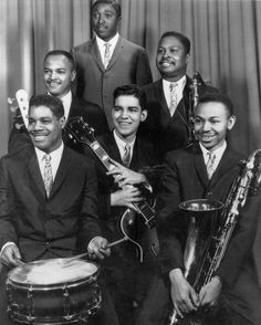 James Jamerson and friends. http://www.charlestonjazz.net/collections-about/