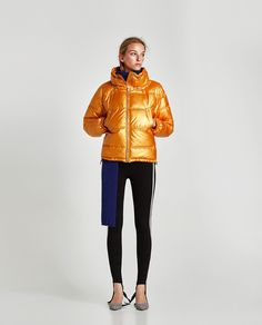 Image 1 of PUFFER JACKET from Zara