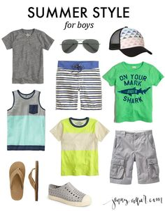 Summer Style for Boys