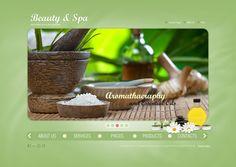 Beauty & Spa Salon HTML5 Template by Dynamic Template