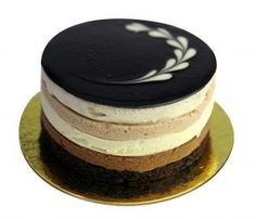 This sensational cake is a chocoholic's dream! It looks good and tastes good; it's just perfect!