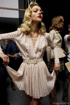 Sasha at Dior