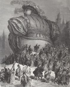 Gustave Dore : Visions of Rabelais