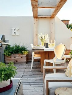 Halcyon Style: Outdoor Living: Modern Rustic