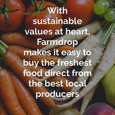 Earlier this week, we shared the first in of our 'Gold Dust' trend series looking at The Greater Good. Our second post looks at entrepreneurs such as @farmdrop the ethical grocer app that cuts out the middleman.  Link in bio 👀  .  .  .  #focuspr #farmdrop #ethicalgrocer #organic #local #londonfood #localproduce #seasonal #instafood #sustainability #socialentrepreneur #csr #greatergood #golddustsession #newbreed #onlinefarmersmarket #thursdaythoughts