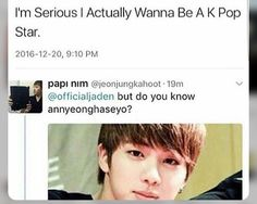 i laughed way too hard when i saw this #jin