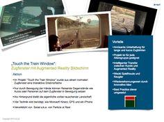 TWT Trendradar: Touch the train window