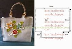 Different bags with patterns. Handmade Handbags, Handmade Bags, Handbag Patterns, Jute Bags, Fabric Bags, Cloth Bags, Bag Making, Purses And Bags, Sewing Patterns