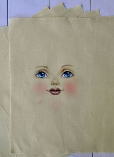 Set for doll body, the body of the doll made of cloth, Set for textile doll