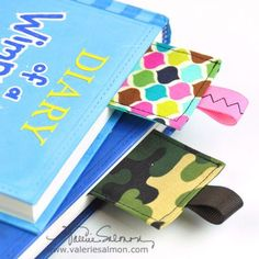 Fabric bookmark tutorial   Give with a book for a great gift