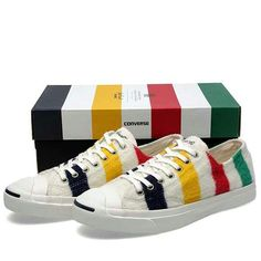 85f30dc38 Jack Purcell and Converse team up with the Hudson s Bay Company for this  collectable shoe inspired by The Bay iconic point blanket.