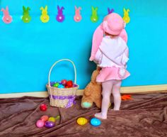 Toddler easter pictures