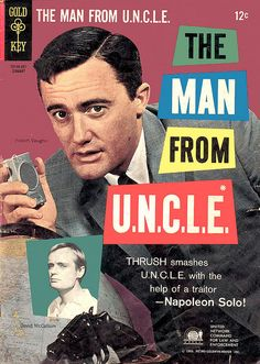 Man From U.N.C.L.E. Comic Book by modern_fred, via Flickr