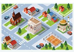 maqueta de servicios publicos - Buscar con Google