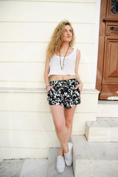 Items similar to FLORIDA shorts- Lightweight shorts. Shorts with waist tie. Summer Shorts, Boho Shorts, Elastic Waist, Stitches, Florida, Tie, Crop Tops, Color, Clothes
