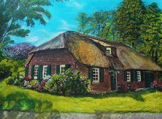 Deze boerderij staat in de wijk Brouwhuis in Helmond.