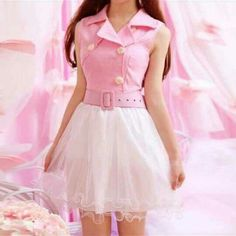 my dress cult+smart Pink Outfits, Stylish Outfits, Dress Outfits, Cool Outfits, Dress Up, Fashion Outfits, Kawaii Fashion, Lolita Fashion, Cute Fashion