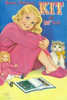 Kit Paper Doll by Queen Holden