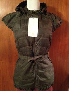NWT 2014 Lululemon Camo Camouflage Spring Fling Puffy Down Vest 8 Light travel ! #Lululemon #CoatsJackets