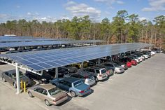 Solar parking space, New Jersey