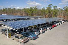 Solar parking space, New Jersey Parking Lot, Car Parking, Parking Space, Solar Energy, Solar Power, Renewable Energy, Solar City, Eco City, Landscape And Urbanism