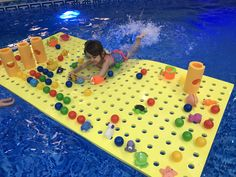 Copil fericit la cursurile de inot!#swim #inot #copii Baby Gym, Outdoor Decor, Play Gym